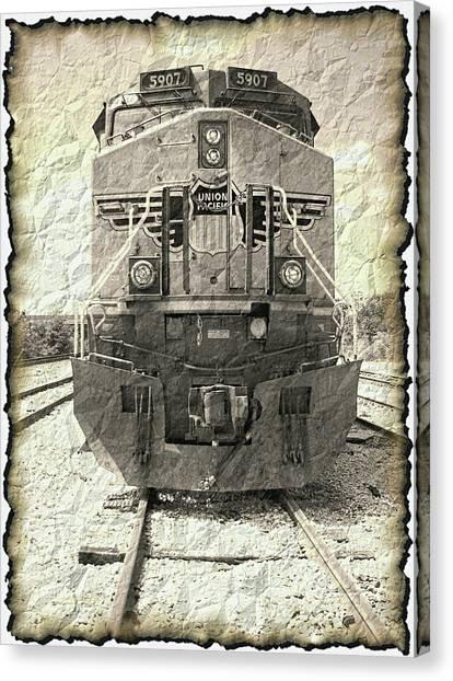 Last Train Canvas Print