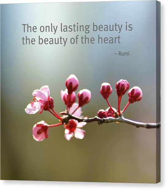 Lasting Beauty Canvas Print