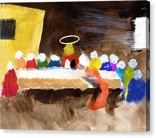 Lastsupper Canvas Print