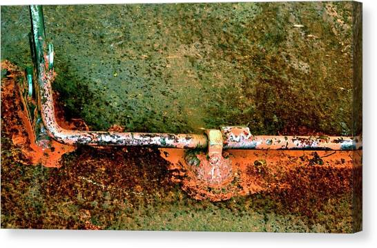 Latch 5 Canvas Print