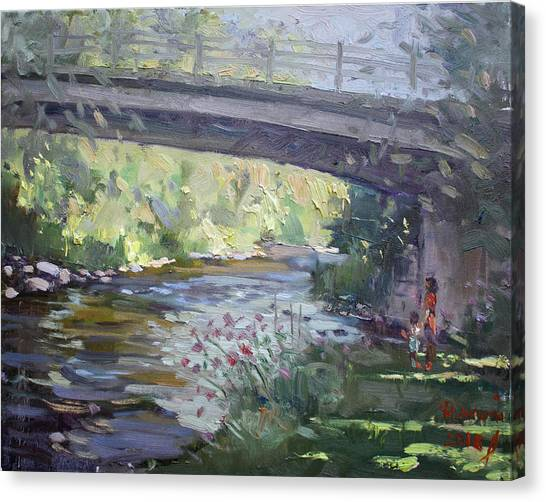 Georgetown University Canvas Print - Late Afternoon At Mcnab Park by Ylli Haruni