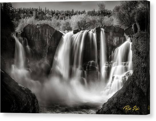 Late Afternoon At The High Falls Canvas Print