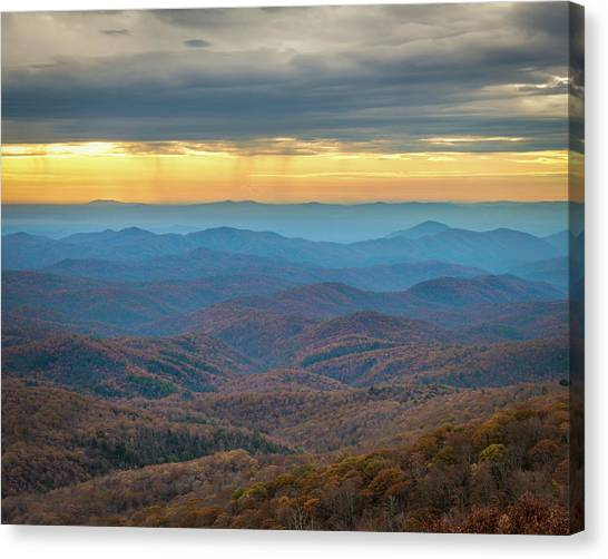 Late Autumn Vista Canvas Print