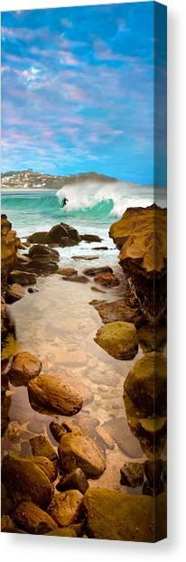 Oz Canvas Print - Late Break by Az Jackson