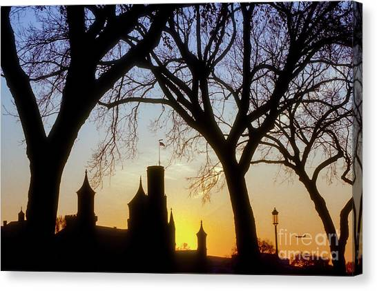 Smithsonian Institute Canvas Print - Late Evening Flight by Bob Phillips