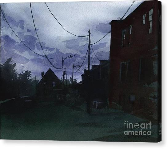 Late Evening Canvas Print
