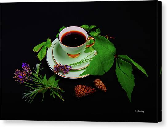 Late Summer Coffee Canvas Print