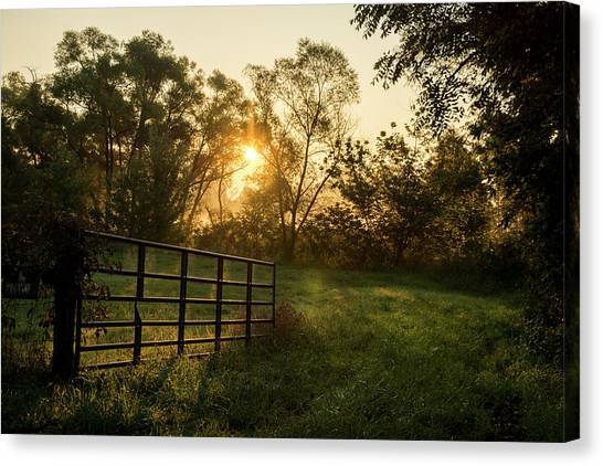 Late Summer Sunrise Canvas Print