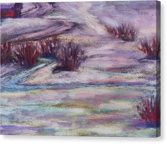 Late Winter Light Canvas Print