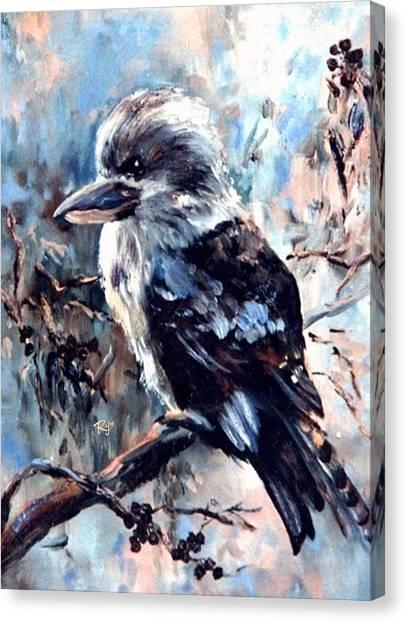 Laughing Kookaburra Canvas Print
