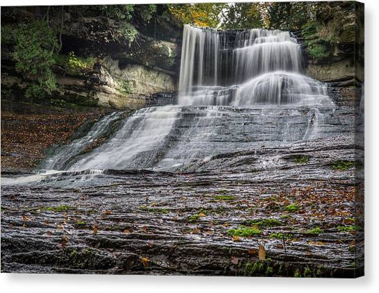 Laughing Whitefish Falls Canvas Print