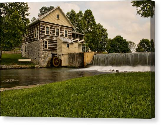 Laughlin Mill  Canvas Print
