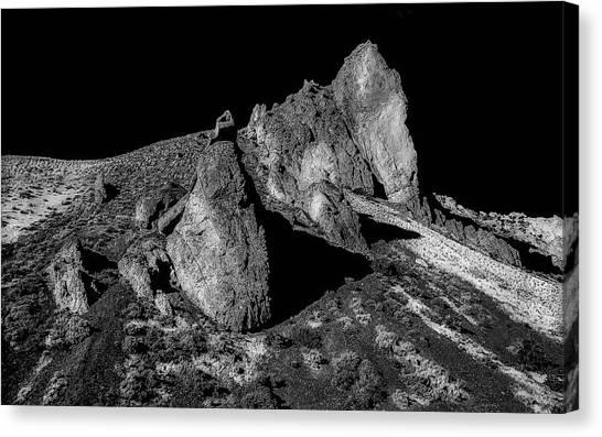 Launch Rock Canvas Print
