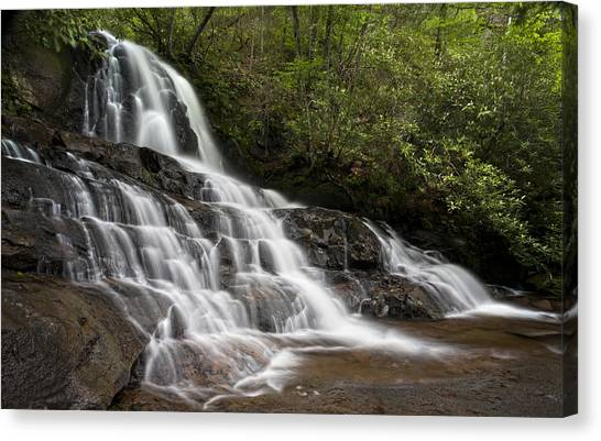 Laurel Falls Canvas Print