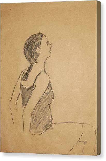 Lauren No.1 Canvas Print by Marina Garrison