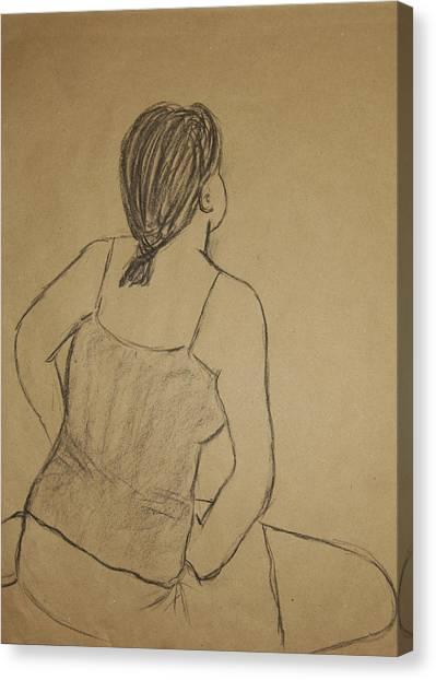 Lauren No.2 Canvas Print by Marina Garrison