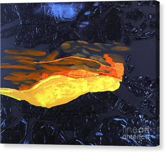 Lava Flow Canvas Print