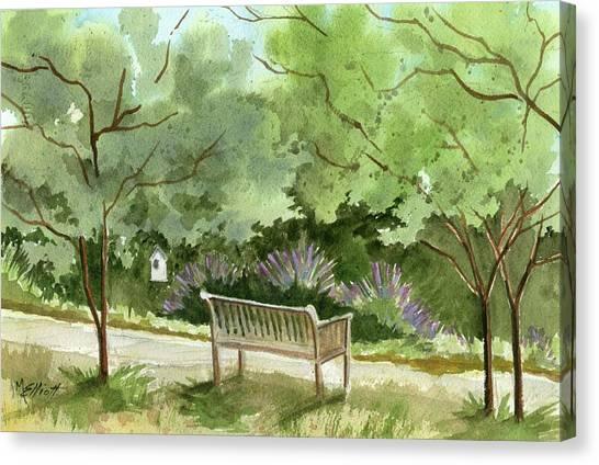 Lavendar Canvas Print - Lavendar Mounds by Marsha Elliott