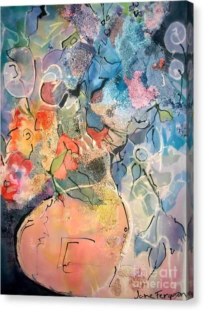 Canvas Print - Lavender Bunch by Jane Ferguson