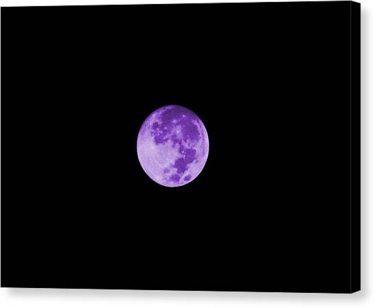 Lavender Moon Canvas Print