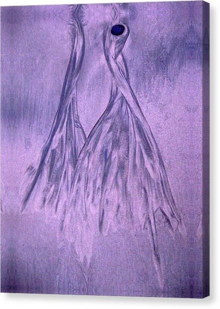 Lavender Sand Dancers Canvas Print