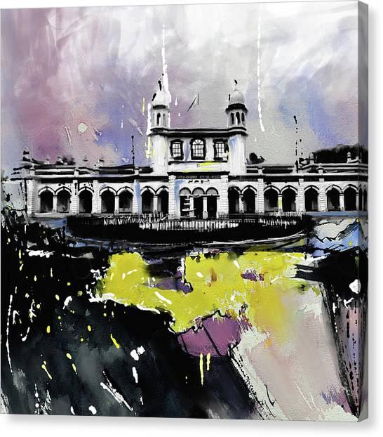 Sikh Art Canvas Print - Layalpur District Council 193 3 by Mawra Tahreem
