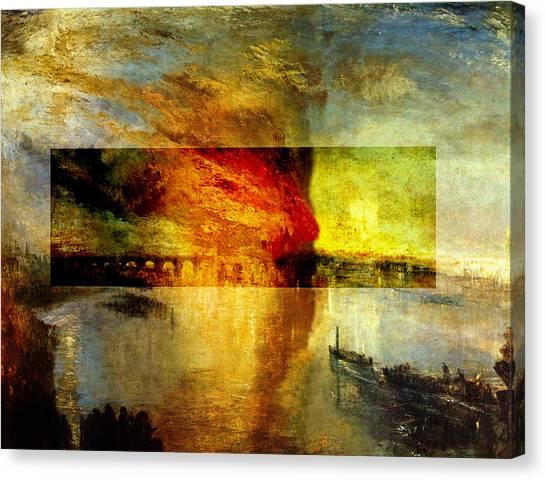 Layered 12 Turner Canvas Print