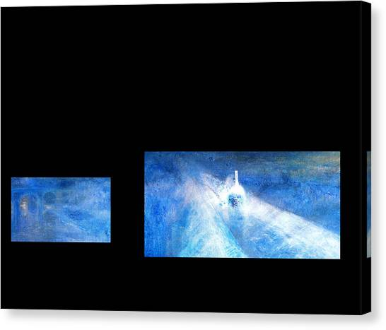 Layered 8 Turner Canvas Print