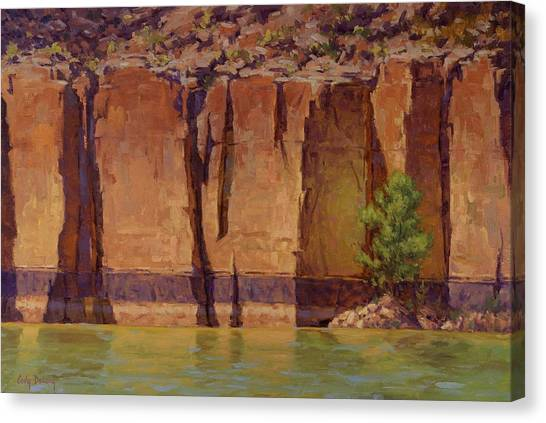 Canyon Canvas Print - Layers In Time by Cody DeLong