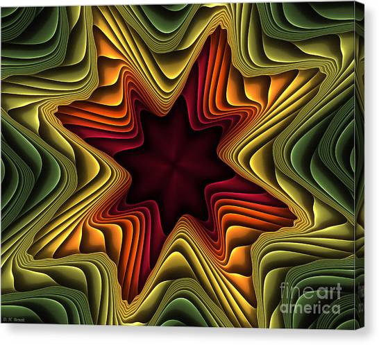 Layers Of Color Canvas Print