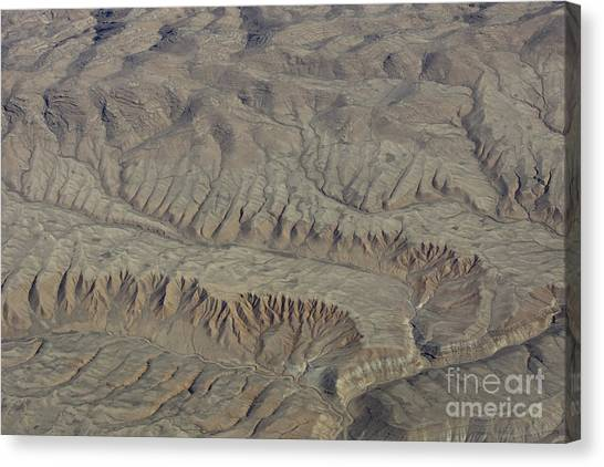 Layers Of Erosion Canvas Print by Tim Grams