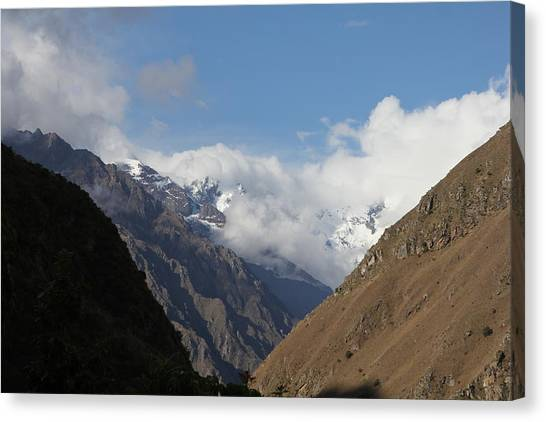 Layers Of Mountains Canvas Print