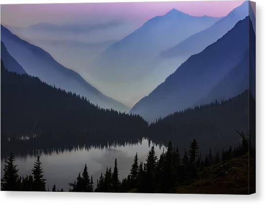 Layers Of Serenity Canvas Print