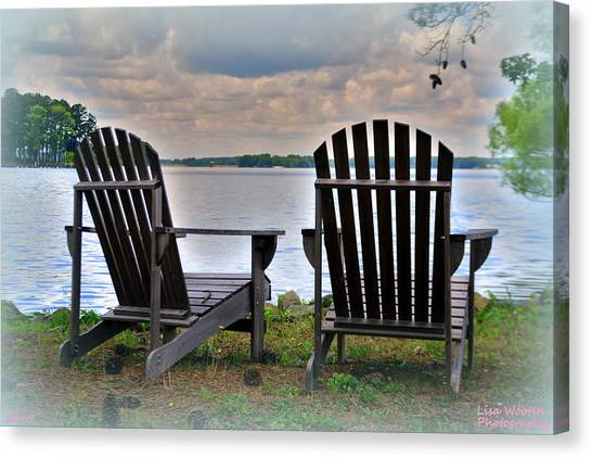 Canvas Print featuring the photograph Lazy Afternoon by Lisa Wooten