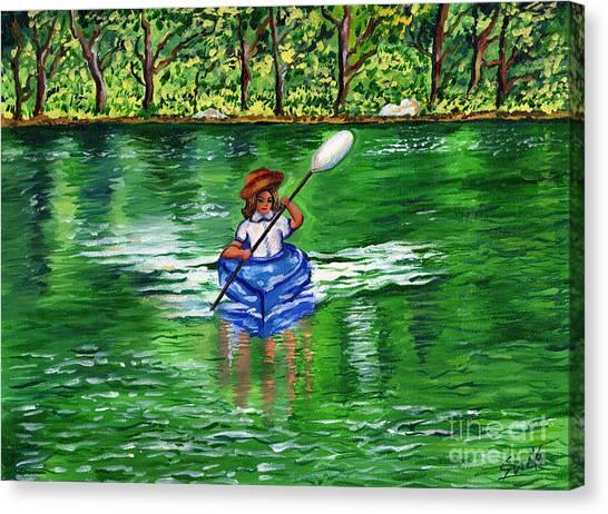 Lazy Days Of Summer Canvas Print by Sweta Prasad
