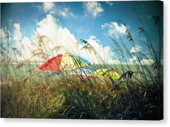 Seagrass Canvas Print - Lazy Days Of Summer by Tammy Wetzel