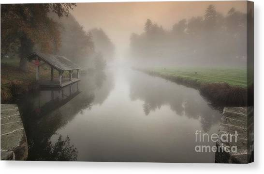 The Sleeping Channel Canvas Print