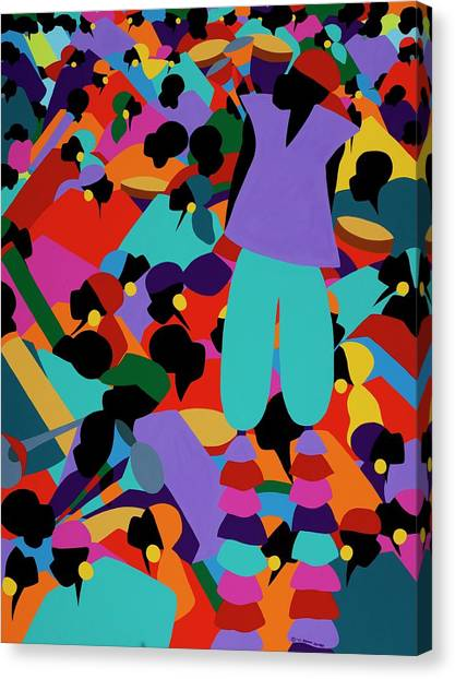 Canvas Print - Le Carnaval by Synthia SAINT JAMES