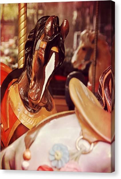 Le Carrousel Canvas Print by JAMART Photography