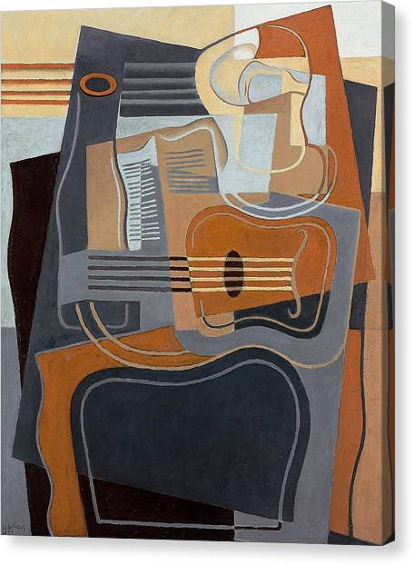 Pablo Picasso Canvas Print - Le Gueridon by Juan Gris