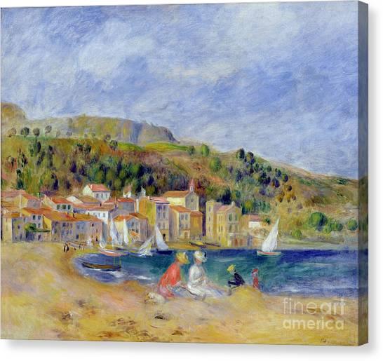 Pierre-auguste Renoir Canvas Print - Le Lavandou by Pierre Auguste Renoir