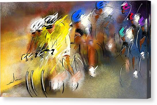 Le Tour De France 05 Canvas Print