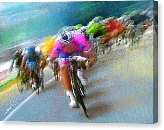 Le Tour De France 09 Canvas Print