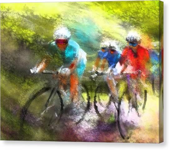 Le Tour De France 11 Canvas Print