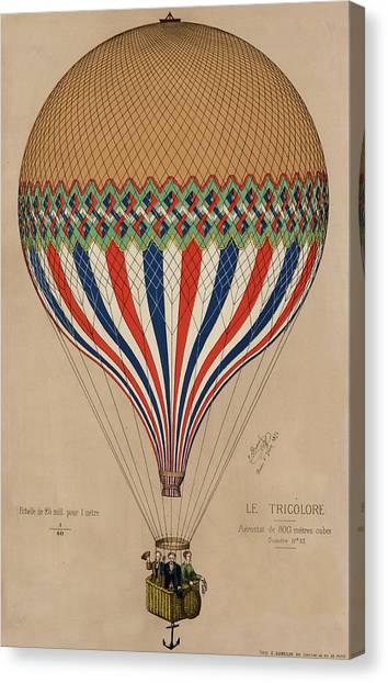 Le Tricolore Canvas Print