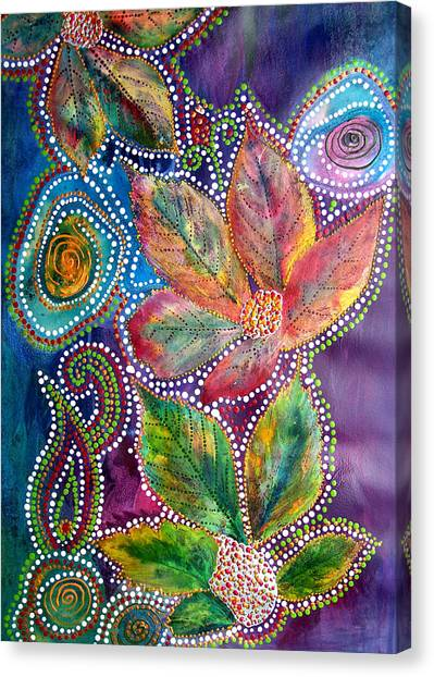Leaf Fiesta Canvas Print