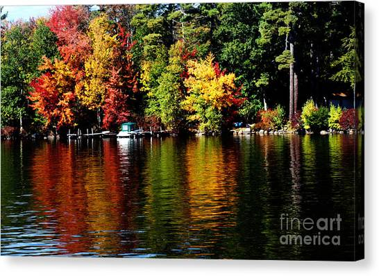Leaf Peeping Canvas Print