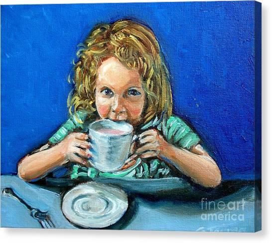 Leah Canvas Print by Sheila Tajima