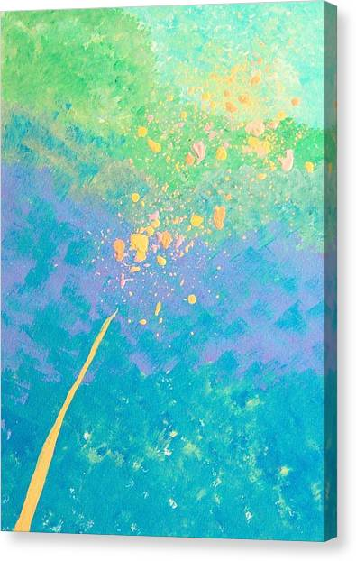 Leaning Canvas Print by Helene Henderson