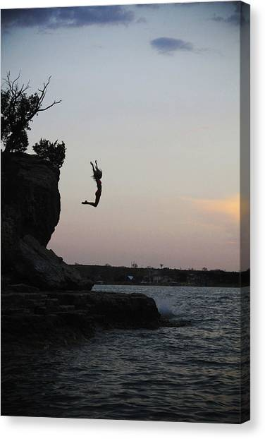 Leap For Joy Canvas Print